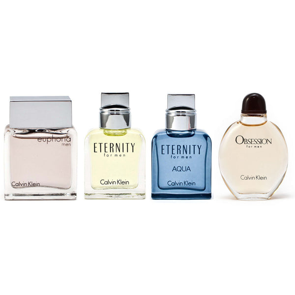 Calvin Klein Men's Mini Fragrance set