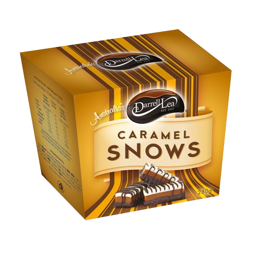 Darrell Lea Caramel Snows - Grocery Deals