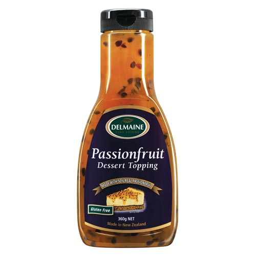 Delmaine Passionfruit Dessert Topping - Grocery Deals