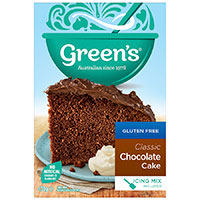Greens Classic Chocolate Cake