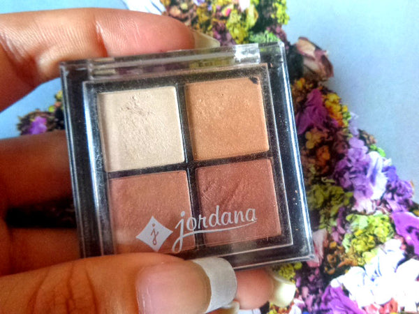 Jordana Quad Eyeshadow Golden Era #01