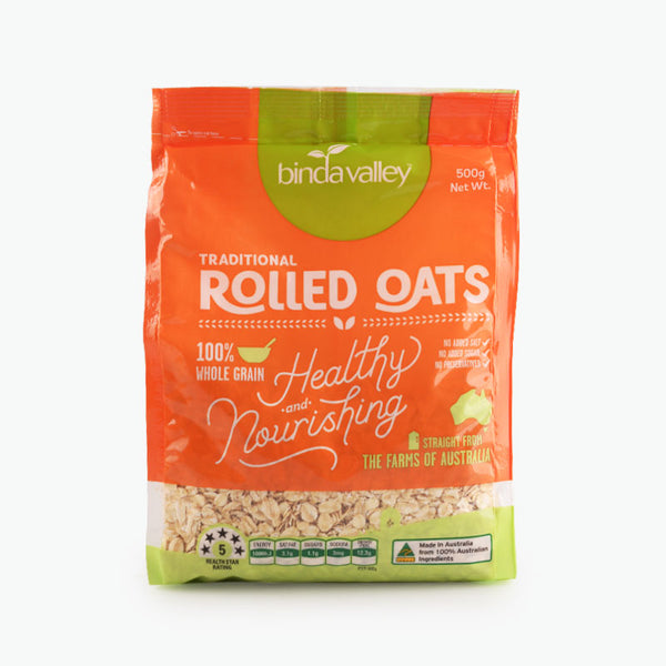 Binda Valley Traditional Rolled Oats - Grocery Deals