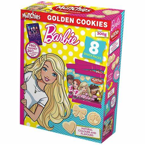 Mr Munchies Barbie Golden Cookies