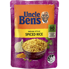 Uncle Bens Indian Spiced Rice