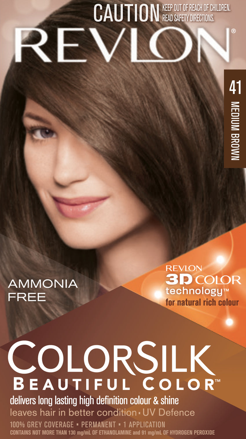 Revlon Colorsilk Medium Brown 41 - Grocery Deals