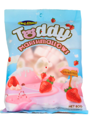 Oki Doki Teddy Strawberry Marshmallows