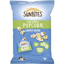 Sunbites Air Popped Popcorn - Grocery Deals