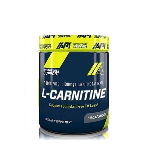 API L-Carnitine 60 Caps - Grocery Deals