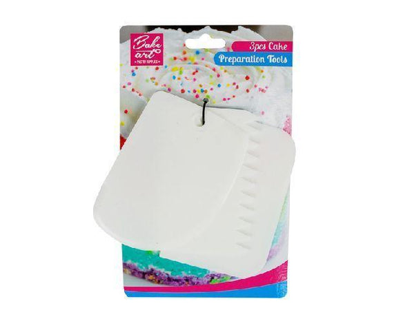 Bakeart Large Cake Scraper Set 3's - Grocery Deals