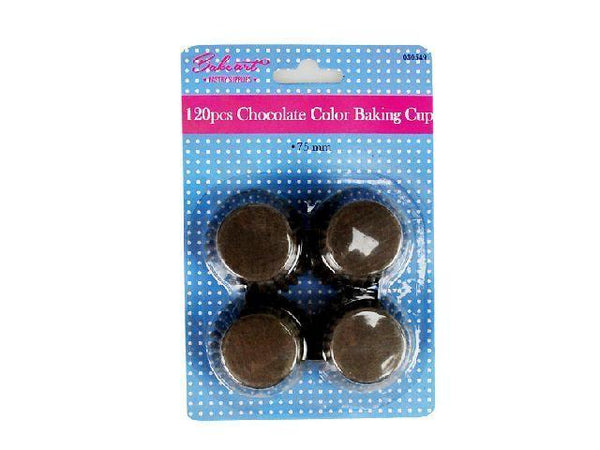 Baking - Baking Cup 75mm Chocolate Color 120's