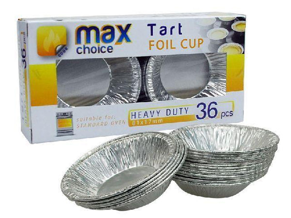 Tart Foil Cup 36 Pack - Grocery Deals