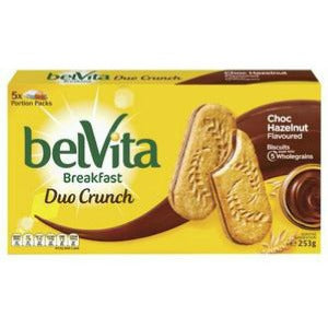 Belvita Breakfast Duo Crunch Choc Hazelnut