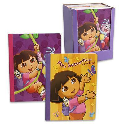 Hardcover notebook - Dora the Explorer - Grocery Deals