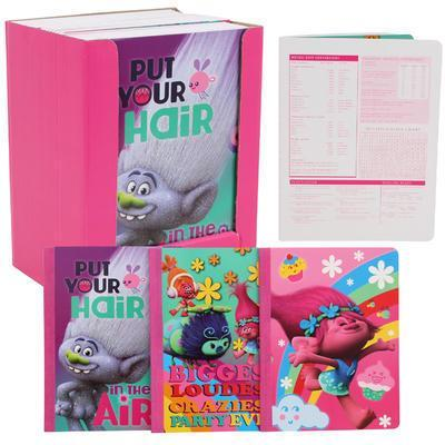 Hardcover notebook - Dreamworks Trolls - Grocery Deals