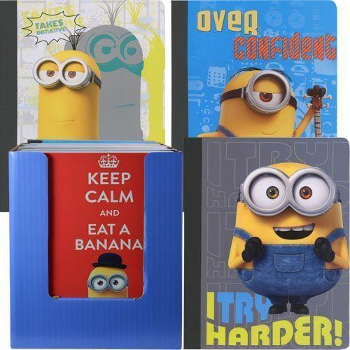 Hardcover notebook - Minions - Grocery Deals
