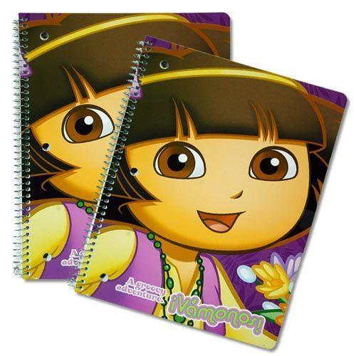Spiral notebook - Dora the Explorer - Grocery Deals