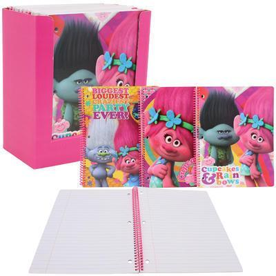 Spiral notebook - Dreamworks Trolls - Grocery Deals