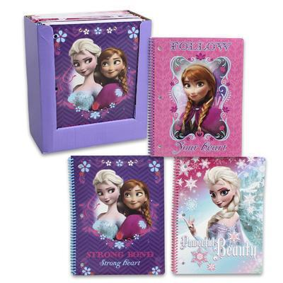 Spiral notebook - Frozen - Grocery Deals
