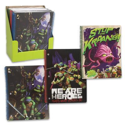 Spiral notebook - Teenage Mutant Ninja Turtles - Grocery Deals