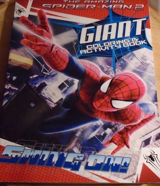 The Amazing Spiderman Giant Coloring & Activity Book - Grocery Deals