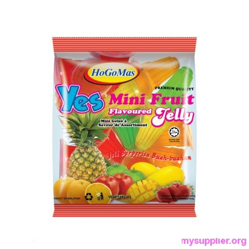Mini Fruit Flavoured jelly cups