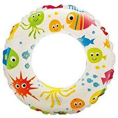 Intex: Lively Print Swim Ring - Fish  51cm - Grocery Deals