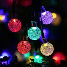 Multi Coloured Ball String LED Lights - Grocery Deals