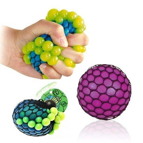 Neon Mesh Squishy Ball - Grocery Deals