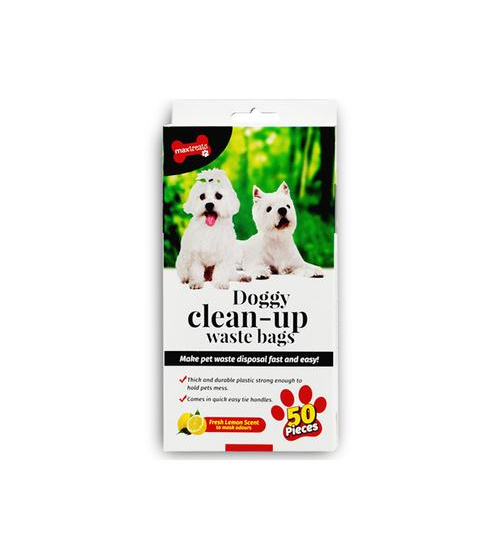 Max Treats Doggy Clean Up Bags 50pack - Grocery Deals