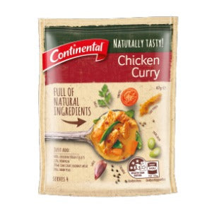 Continental Naturally Tasty Meal Chicken Curry - Grocery Deals