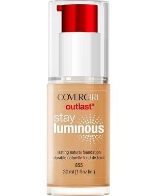 CoverGirl Outlast Stay Luminous Foundation Soft Honey 855 - Grocery Deals