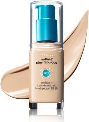 COVERGIRL Stay Fabulous 3-in-1 Foundation 30ml - Soft Honey #855 - Grocery Deals