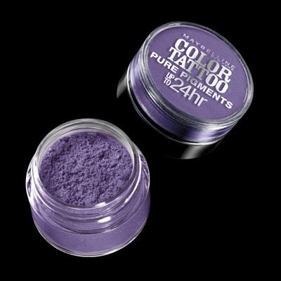 Cosmetics - Maybelline Color Tattoo Pure Pigments 15 Potent Purple