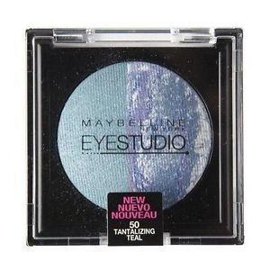 Cosmetics - Maybelline Eye Studio - 50 Tanalizing Teal