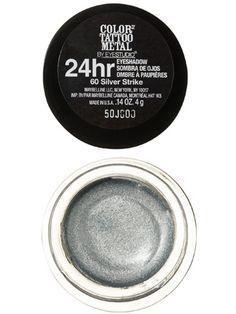 Maybelline Eye Studio Color Tattoo 24HR Eyeshadow 60 Silver Strike - Grocery Deals