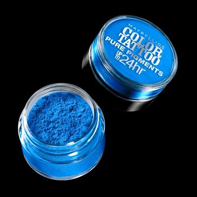 Cosmetics - Maybelline Eye Studio Color Tattoo 24HR Eyeshadow – Brash Blue
