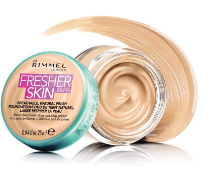 Rimmel Foundation Fresher Skin Soft Beige 25ml - Grocery Deals