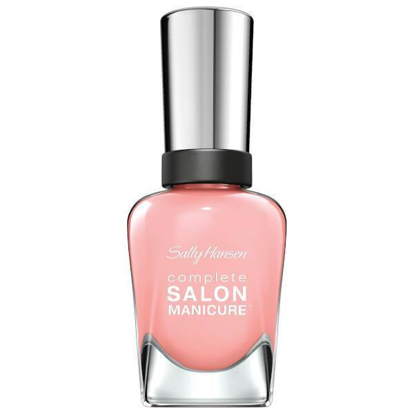 Sally Hansen Complete Salon Manicure Nail Polish Pink At Him - Grocery Deals