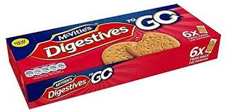 McVitie's Digestives to go 6 pack