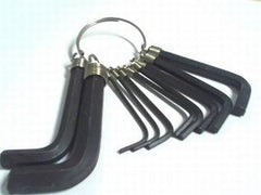 10pc Hex Key Ring - Grocery Deals