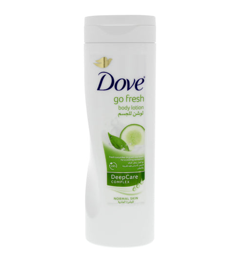 Dove Go Fresh Body Lotion Daily Nourishment Cucumber and Green Tea Scent - Grocery Deals