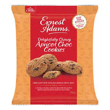 Ernest Adams Cookies Apricot Chocolate Chip Cookies