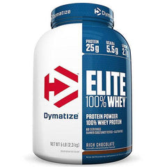 DYMATIZE ELITE 100% WHEY PROTEIN 5Lb - Grocery Deals