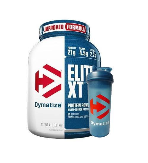 Dymatize Elite XT + Free Shaker - Grocery Deals
