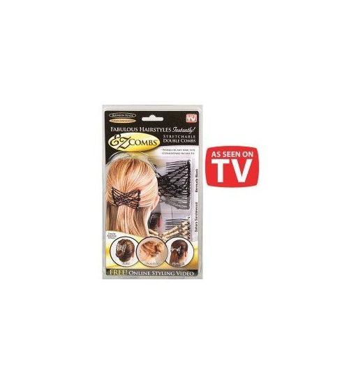 EZ Combs Stretchable Double Comb - Grocery Deals