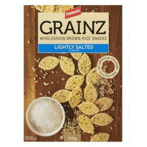 Fantastic Grainz Wholegrain Rice Snacks