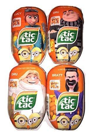 Despicable Me 3 Limited Edition Minion Tic Tac 98g - Grocery Deals