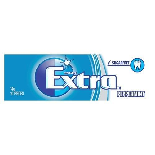 Wrigley's Extra Chewing Gum Peppermint Sugar Free - Grocery Deals