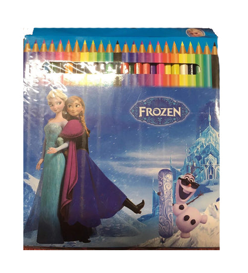 Frozen 24 Pack Coloring Pencils - Grocery Deals
