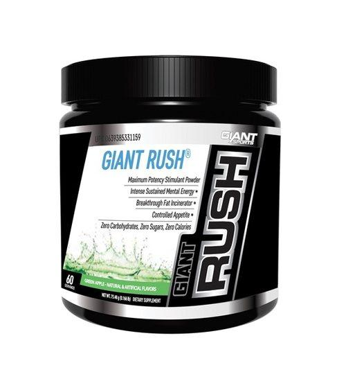 GIANT SPORTS GIANT RUSH PRE-WORKOUT - Grocery Deals